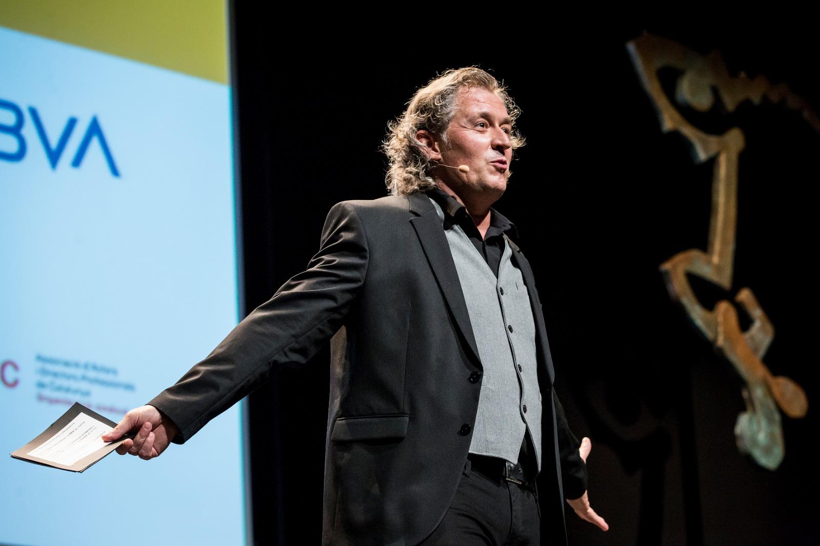 Presentació de la gala dels Premis BBVA