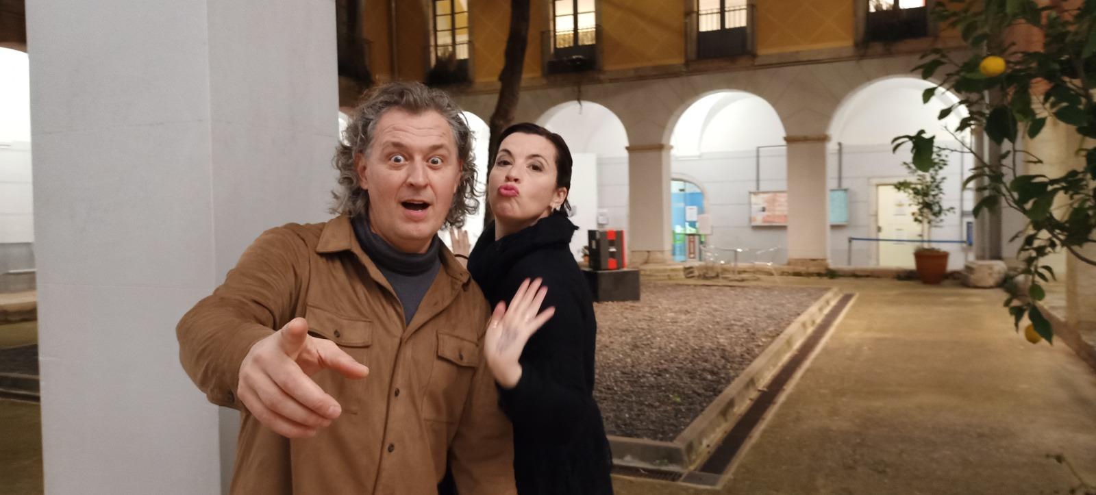 Pepe Sales 2021 amb Marta Ribera