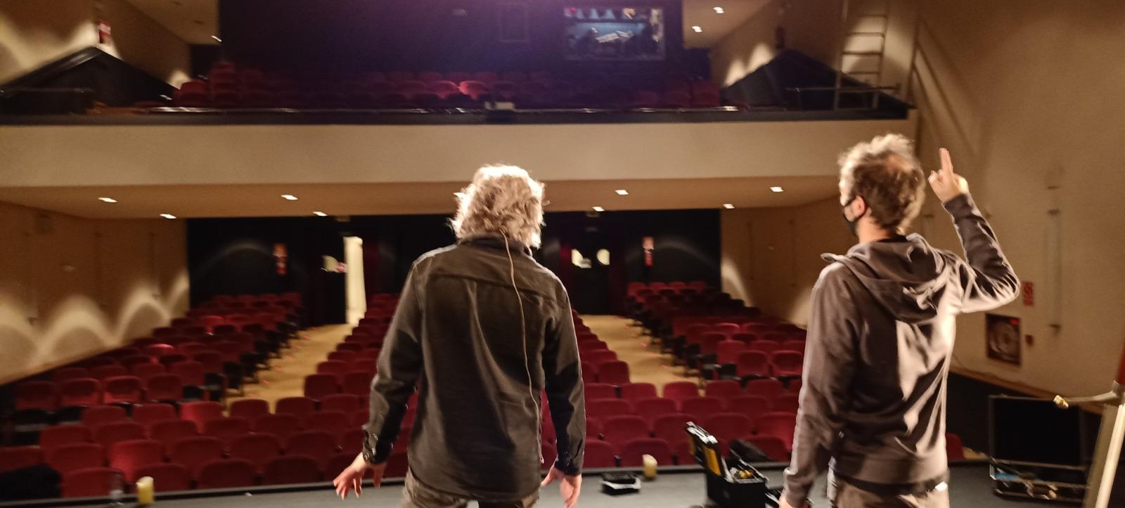 Assaig al Teatre la Gorga de Palamós