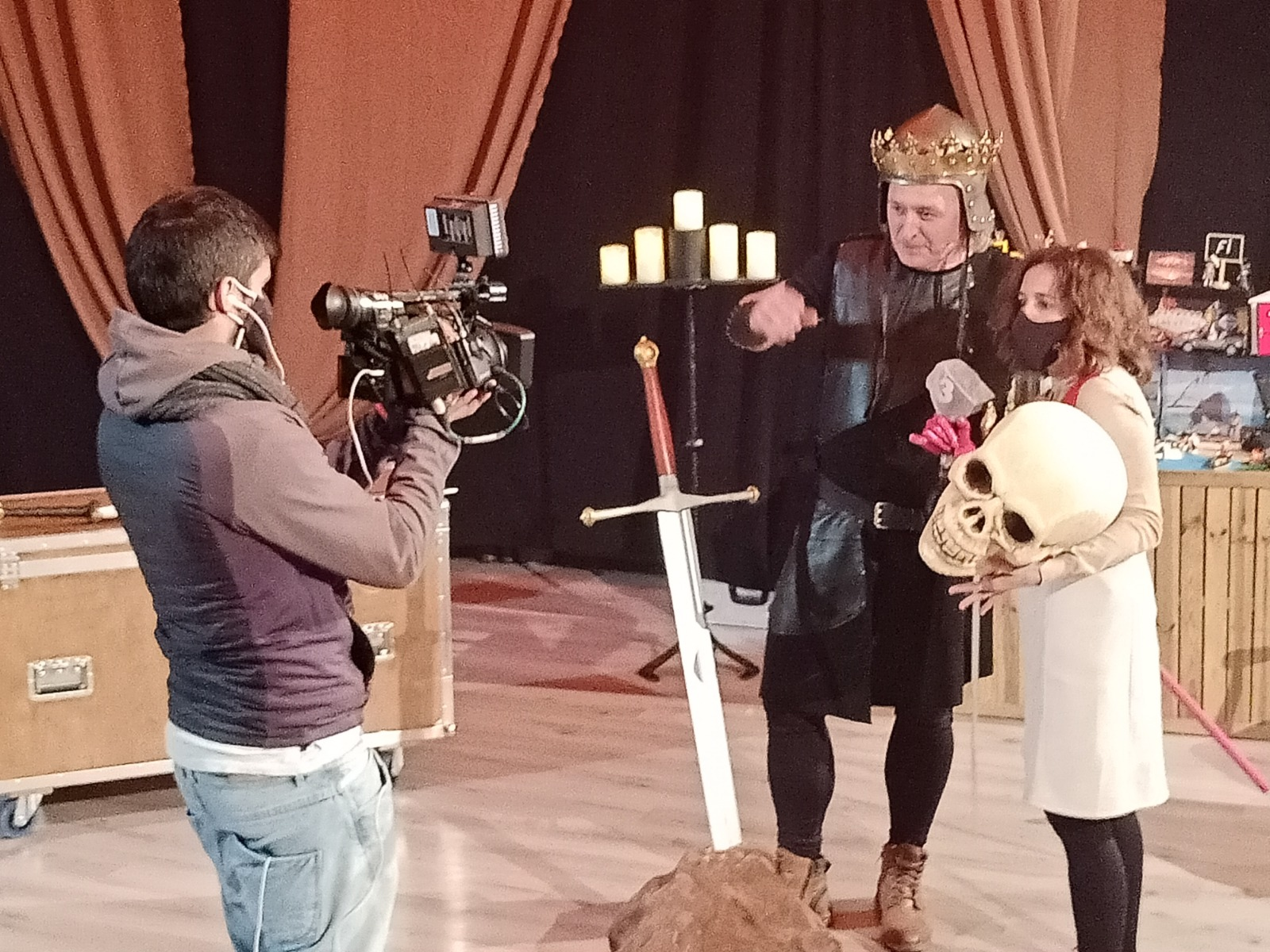 Reportatge d'Esteve Rovira TV3 a Cascai Teatre